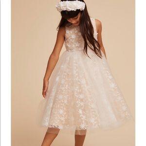 BHLDN Flower Girl Dress, Sz 6T